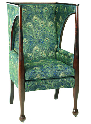upholstered porters chair | From Liberty's 2005 sale ...
