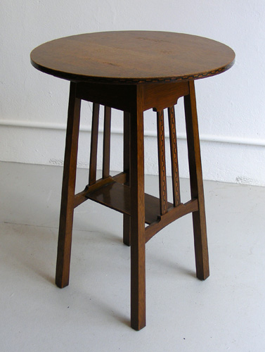 Arts and crafts side table for Arts and crafts side table