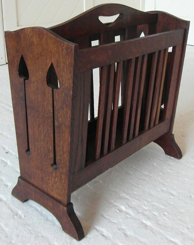 liberty co arts crafts magazine rack On arts and crafts magazine rack